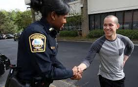 Helping cop